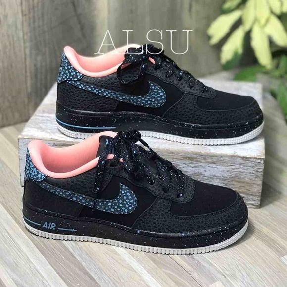 Nike Shoes - Nike Air Force 1 Pinnacle Black lacuna Pulse k/W